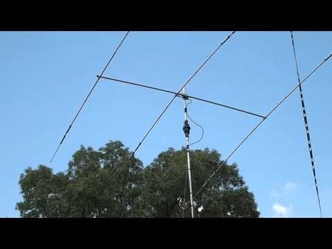 HamRadio Antennas. A3S Cushcraft. Tribander 10M-15M-20M