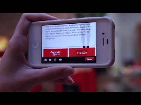 Vodafone Gombold jra Augmented Reality Divatbemutat