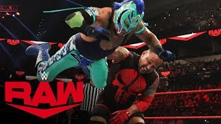 Rey Mysterio vs. MVP: Raw, Jan. 27, 2020