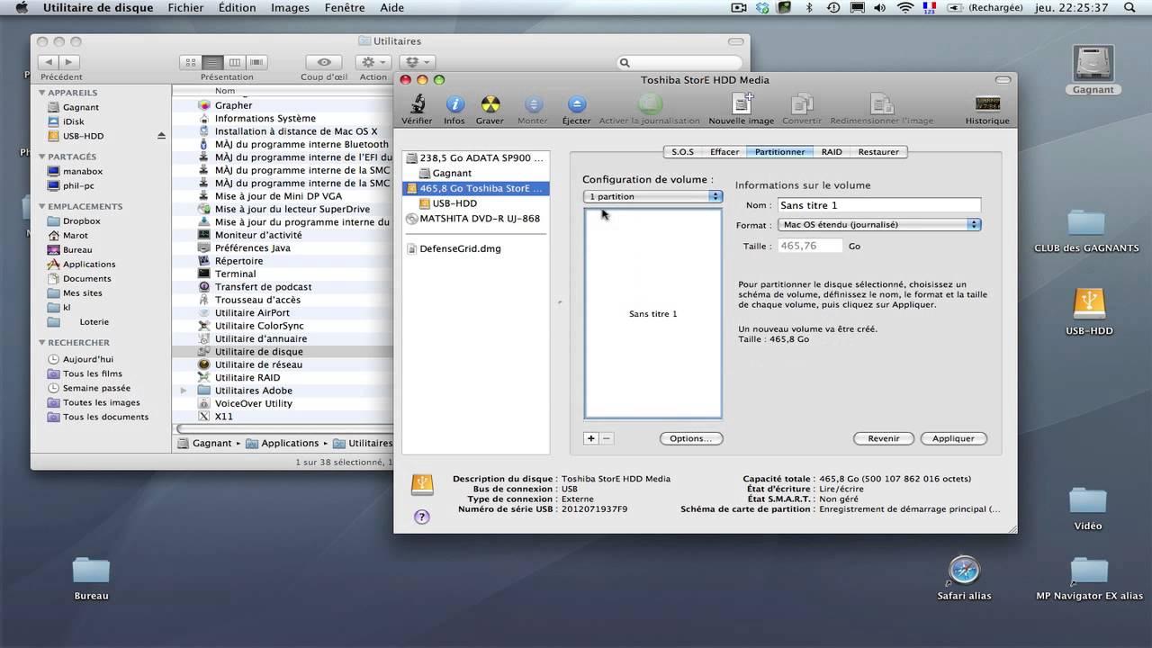formater un disque dur pc