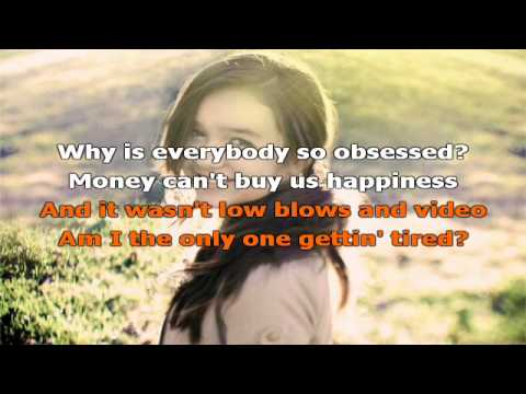 Maddi Jane - Price Tag With Lyrics On Screen Hd video