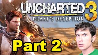 Let's Play Uncharted 3 - LIL' DRAKE - Part 2