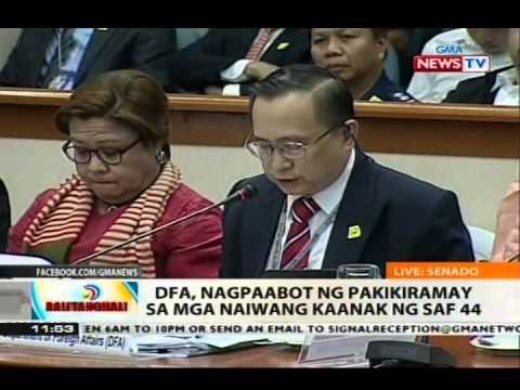 NTVL: Pagdinig ng Senado sa madugong engkwentro sa Mamasapano, Maguindanao