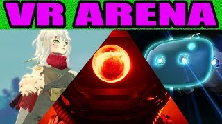 | BEST VR MMORPG 2019 | RED MATTER QUEST| HTC VIVE COSMOS & MORE - VR ARENA #2