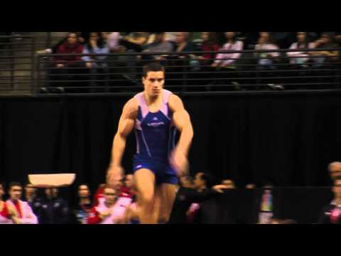 Jake Dalton - Vault Finals - Vault #1 - 2012 Kellogg&#039;s Pacific Rim Championships