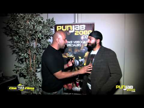Punjab2000.com interview with Monty Panesar at the BritAsia 2012 Music Awards