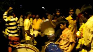 Bangalore Ganesha celebration with drums