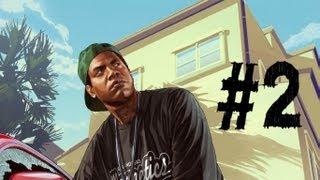 Grand Theft Auto 5 Gameplay Walkthrough Part 2 - Franklin and Lamar ( GTA V )