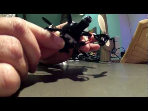World smallest non military FPV Quadcopter