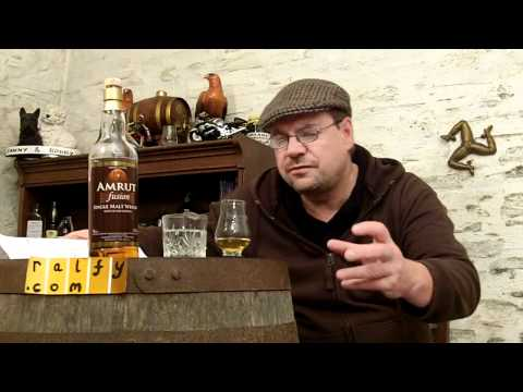 whisky review 225 - Amrut 'Fusion' Whisky