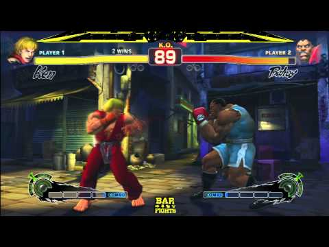SSF4:AE 2012 Tournament BarFights 28 02 13