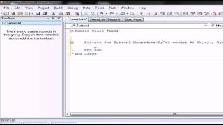 tutorial colores visual basic .net evento mouse move basico