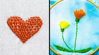 18 EASY EMBROIDERY HACKS FOR KIDS