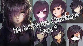 【Speedpaint】20 Art Styles Challenge Part 1