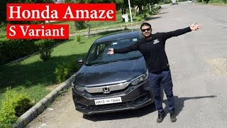 New Amaze 2018 S Variant  Complete Review | Latest Cars reviews