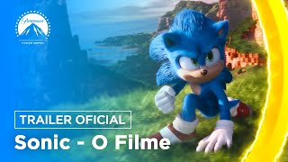 Sonic: O Filme | Trailer Oficial | DUB | Paramount Pictures Brasil