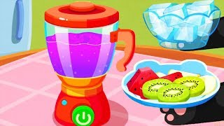 Baby Panda's Pet Cafe - Play Cool Kitchen Tools & Cook - Gameplay Android/ ios