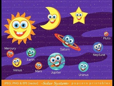Solar System Learning Pack for Preschoolers  My Preschool