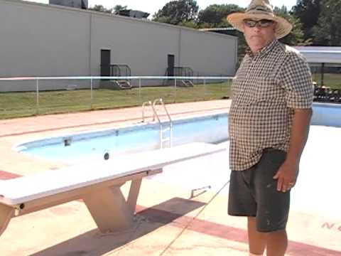 Swimming Pool Builder / Contractor, Augusta Aquatics - Diving Stand Safety Issue
