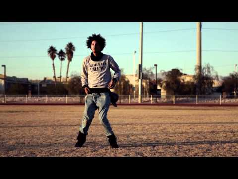 Lil' Beast (Laurent) from Les Twins in Vegas Roadside | YAK FILMS