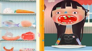 Troll Mutfakta Neşeli Yemekler #Çizgifilm Tadında Yeni Oyun