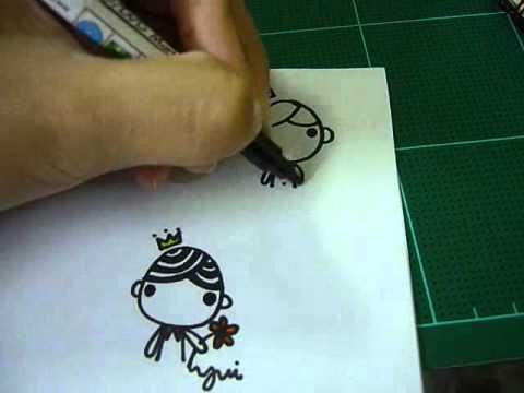 วิธีวาดรูปง่ายๆ ใน 1 นาที By Memoriesme