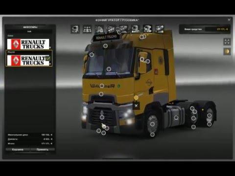 ETS2 Renault Range T v4 0 Test
