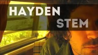 Watch Hayden Stem video