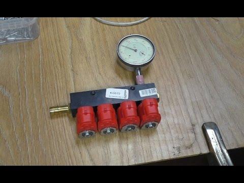Настройка и калибровка форсунок VALTEC для ГБО-4 , своими руками .