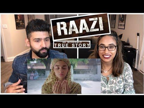 Raazi Trailer Reaction | Alia Bhatt, Vicky Kaushal | RajDeepLive! thumbnail