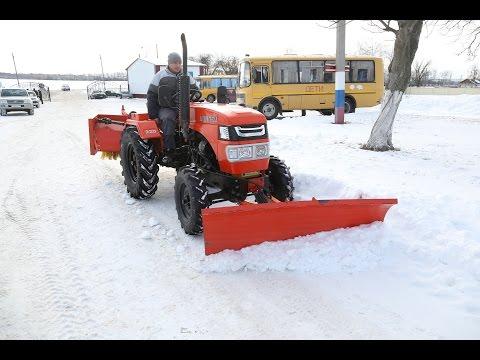 Трактор - в подарок от фонда «Поколение»