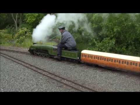 Echills Wood Railway (EWR) 'Standard Gauge'  GALA 2013 - (23/06/2013):