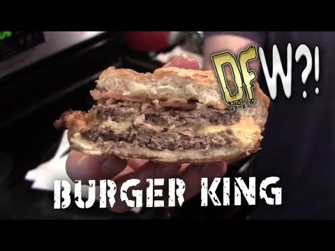 Deep Fried Burger King