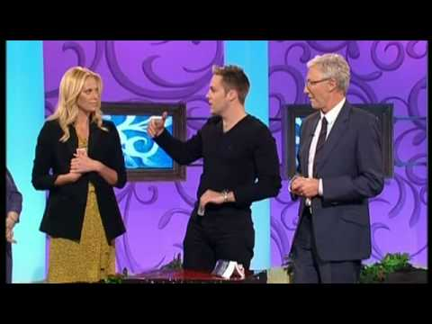 Paul O'Grady 6th march 2009 Keith Barry does magic with Charlize Theron