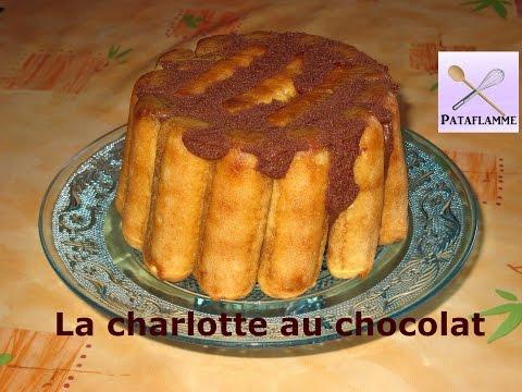 La charlotte au chocolat recette facile chocolate charlotte recipe youtube - Charlotte au chocolat facile ...