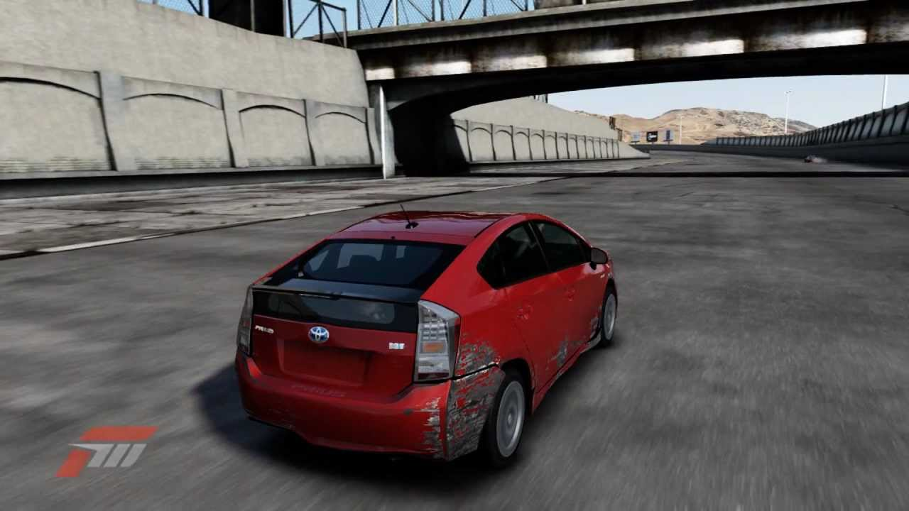 forza 4 destroy the toyota prius youtube. Black Bedroom Furniture Sets. Home Design Ideas