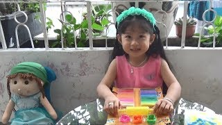 Clay play doh ❤ Baby Thao Anh made clay Fruit ❤ Toys children