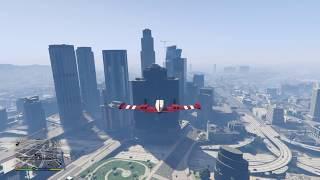 Grand Theft Auto  v choque  avioneta