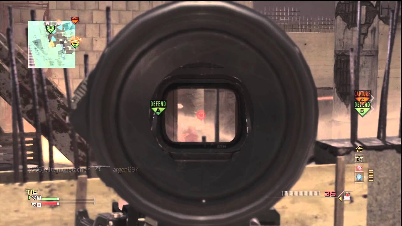 Hybrid Sight Mw3 Mw3 M16 Hybrid Sight Moab on