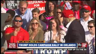 LIVE | Donald Trump holds campaign rally in Orlando