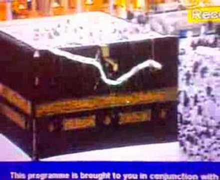 changing of GHILAF-E-KHANA KAABA SHAREEF