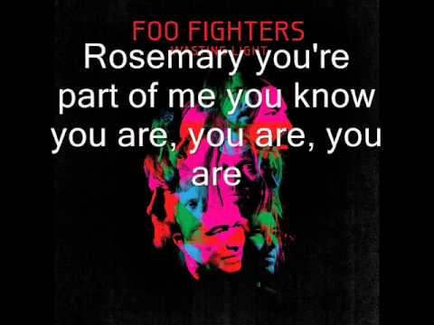 Foo Fighters - Dear Rosemary (lyrics, HQ)