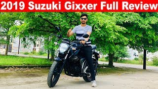 2019 Suzuki Gixxer Full Review l Sound System 🔥Aayush ssm