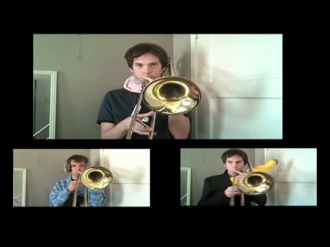 Bruno Mars - Grenade [official Trombone Cover Music Video] Paul The Trombonist video