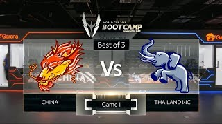 AOV World Cup 2018 : CHINA VS THAILAND WC - Game 1 | All Star Bootcamp Day 6