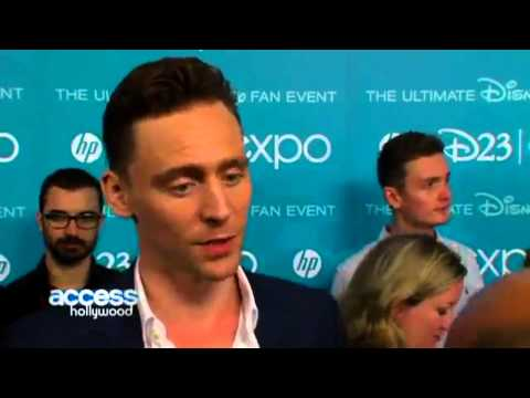 Highlights from Tom Hiddleston's interviews at D23. 2013