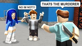TROLLING PEOPLE IN ROBLOX MURDER MYSTERY 2