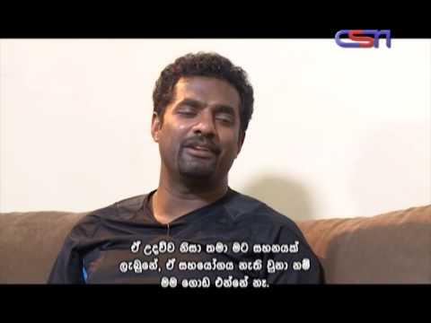 Muttiah Muralitharan with Bhoomika[Full Episode]