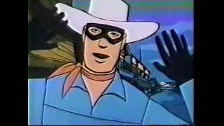Lone Ranger Cartoon 1966 - Town Tamers Inc. - Action Western