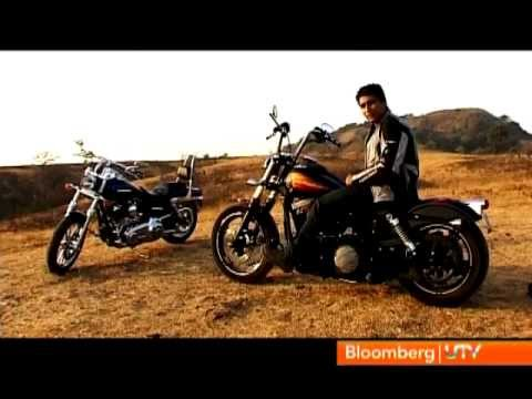 2012 Harley Davidson Street Bob and Super Glide   Comprehensive Review   Autocar India